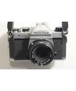 Pentax K1000 Film Camera - Extra Lens & Flash Untested !!! Gray Tote Bag - $139.33