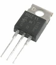 Siemens BUZ11 Transistor 50V, 33A - Lot of 1, 5, or 10. - $6.60+