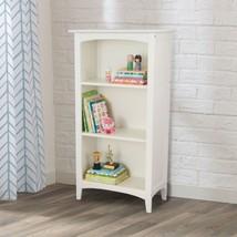 Kidkraft 14001 Avalon Kids Wood Book Shelf White Bookcase NEW - $122.95