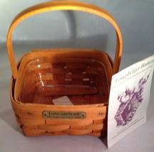 Longaberger 1996 Hostess Appreciation w/ Protector - $15.63