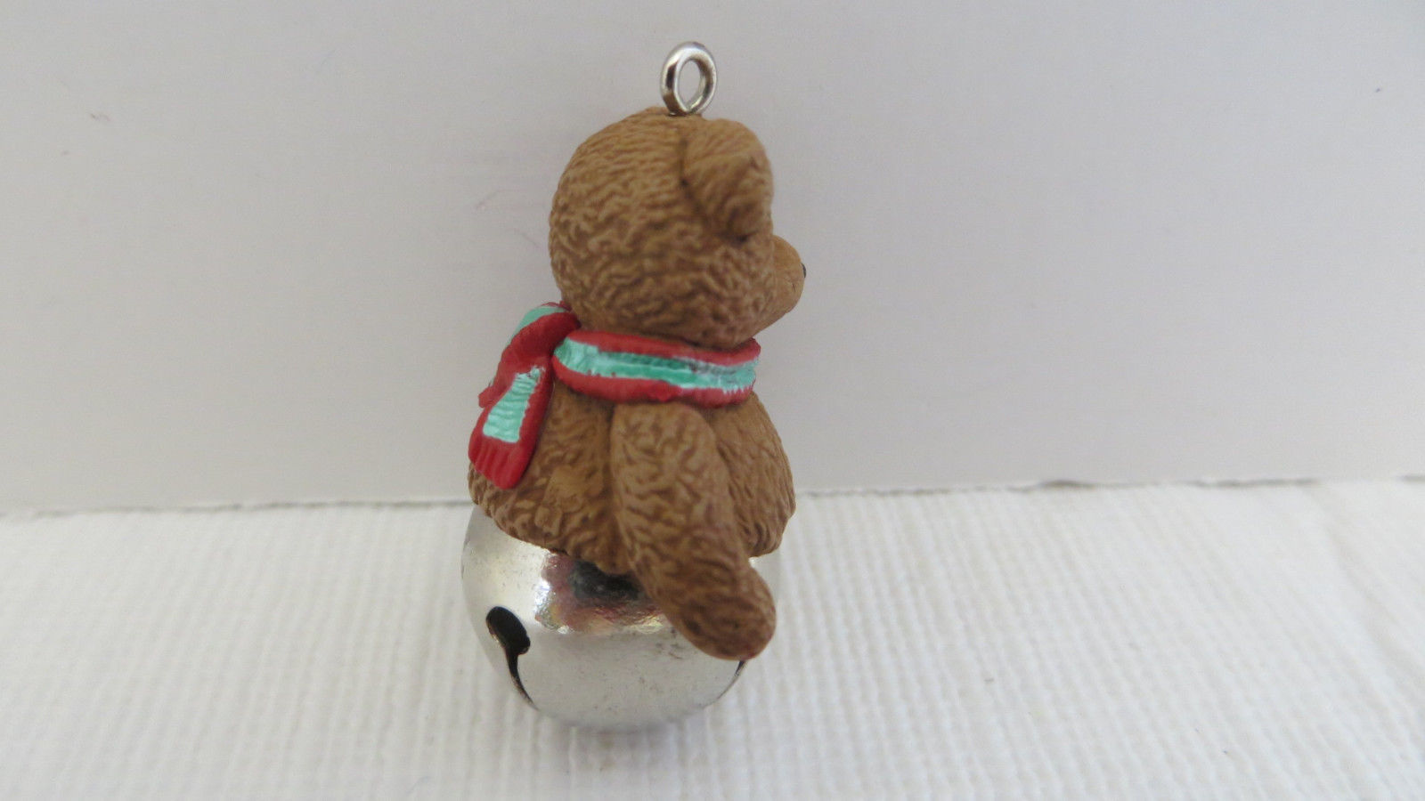 Hallmark /'1998 Teddy-Bear Style/' 2nd in Teddy-Bear Series Miniature Ornament NIB