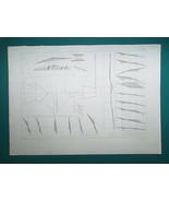 1864 PRINT - Civil Engineering Earthwork Cuts & Fills #19 - $16.20