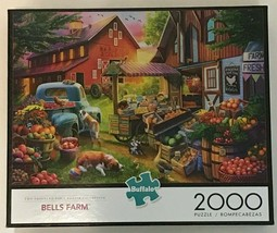 Bell's Farm 2000 Piece Jigsaw Puzzle by Buffalo Games - $29.70