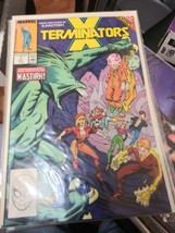 X-Terminators #1 -4 1988 complete mini series Marvel Comics Set VF X-Men... - $13.81