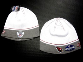 Arizona Cardinals NFL YOUTH Reebok Sideline Two Tone Hat Cap Knit White ... - €8,48 EUR