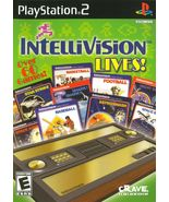 Intellivision Lives! (PlayStation 2, PS2)(SLUS-20830) Complete with Inst... - $14.99
