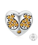 Fish Love Heart 925 Authentic Silver Original Pandora Charm Bracelet - $10.95