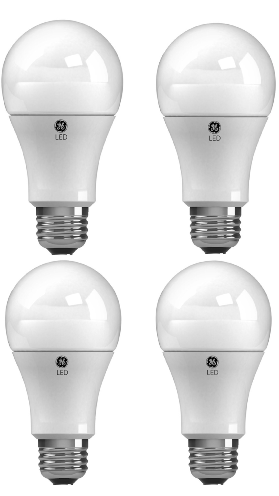General Electric 25w 4pk Long Life Incandescent Chandelier Light Bulb White
