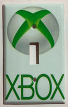 XBox green logo Switch Outlet Toggle & more Wall Cover Plate Home decor