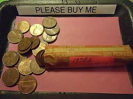 1978-D Lincoln Cent Circs Roll >> C/S & H - $2.57