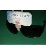 +2.50 Magnivision Foster Grant Sunglasses Bifocal Coral Black Smoke Lenses - $7.90