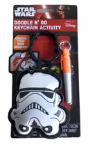 Star Wars Doodle N' Go Keychain Activity Stormtrooper 2015 Disney Tara - $8.59