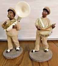 Lot 2 Figures - Tuba & Drum Saints Marching Band Enesco Parastone - $24.63