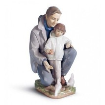 Lladro 01006793 A DAY WITH DAD 6793 Retired New in original box - $605.87