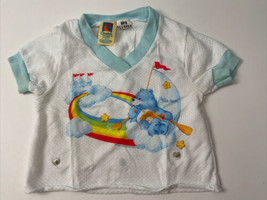 Vtg Carters Care Bear Top 24 Months Made in USA Wish Bear Baby Clothing - $29.69