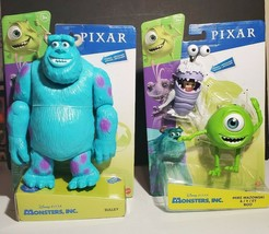 Disney Pixar Monsters Inc. Sulley Mike Wazowski & Boo Action Figure Set ... - $39.95