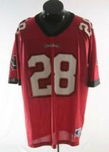Tampa bay Buccaneers Jersey 28 Warrick Dunn Vintage Champion - $14.64