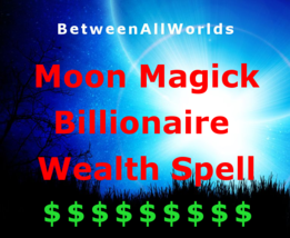 gmp New & Full Moon Billionaire Money Magick Wealth Spell Betweenallworl... - $139.23