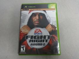 Fight Night Round 2 Original Microsoft Xbox Game & Case No Manual Free Ship - $18.24 CAD