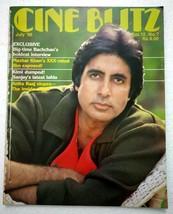 Cineblitz Jul 1986 Amitabh Kimi Sanjay Anita Raaj Madhuri Govinda Sangee... - $39.99