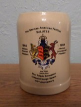The German American Festival Salutes 100th Anniversary Toledo Beer Stein - $12.00