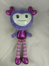 "Brightlings Purple Doll Plush 15"" Spin Master Stuffed Animal toy - $7.15"