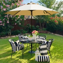 Outdoor Table Patio Umbrella Market Stylish Decor Modern Design High Qua... - £90.78 GBP