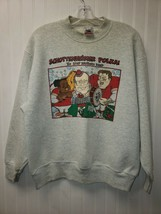 Vintage 1994 Schottenheimer Polka The Step Brothers Band Sweater L - $25.50