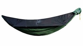 Go Camping Hammock 2.0 w/ Built-In Mosquito Net - Slate Gray by Go Outfi... - $182.07