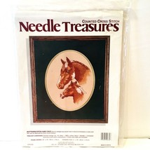 Needle Treasures Butterscotch and Colt Horse Counted Cross Stitch Kit 02630 NEW - $12.95