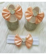 Heart Crown Baby Shoes - $45.00+