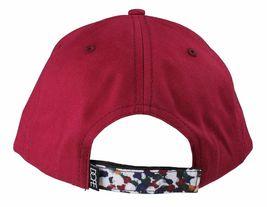 Dope Couture D0915-H206-BUR Seurat hook Loop Strapback Cap Burgundy Speckled Hat image 3