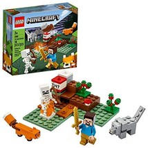 LEGO Minecraft The Taiga Adventure 21162 Brick Building Toy for Kids Who Love Mi - $14.99