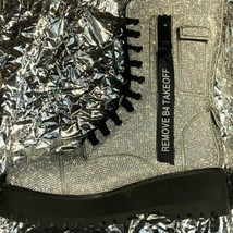 NEW In BOX Billionaire Bling Boot Club Exx Size 7 WOW! SHIIINYYY