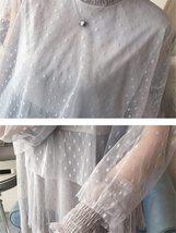 Maternity Dress Long Sleeve Fashionable Layered Dress image 8