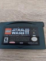 Nintendo Game Boy Advance GBA LEGO Star Wars II: The Original Trilogy image 2