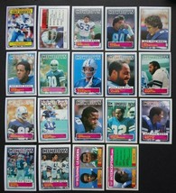 1983 Topps Dallas Cowboys Team Set of 19 Football Cards - $16.99