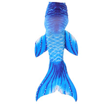 Girls Women Fin Mermaid Tail Swimming Costume Monofin Swimmable Tails with fin - $15.99+