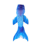 Girls Women Fin Mermaid Tail Swimming Costume Monofin Swimmable Tails wi... - $15.99+