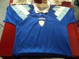 blue jersey hockey Argentina 90 years Adidas Size L aprox. ( malas ) - $40.71