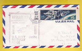 APOLLO 10 NAVY RECOVERY FORCE PACIFIC USS ARLINGTON MAY 26 1969 - $1.78