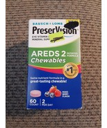 Bausch + Lomb PreserVision AREDS2 Eye Vitamin & Mineral Formula 60 Exp 0... - $13.45