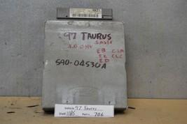 1997 Ford Taurus Sable Engine Control Unit ECU F7DF12A650EB Module 06 11B5 - $9.89