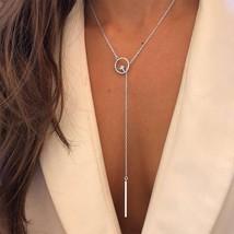 New Boho Jewelry Multi Layer Choker Necklaces for Women Sexy Fashion Pen... - $9.69