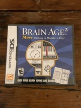 Brain Age 2: More Training in Minutes a Day Nintendo DS **BRAND NEW, SEA... - $9.99