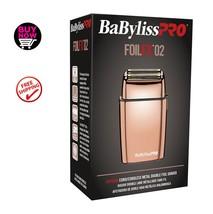 BABYLISS PRO FOILFX02 CORDLESS METAL DOUBLE FOIL ROSE GOLD SHAVER (DUAL ... - $130.00