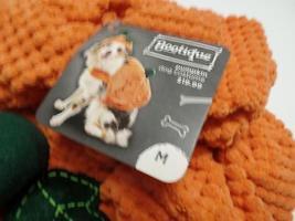"Bootique Dog Pet Costume Pumpkin Hat M Medium New 15-17"" Halloween 2687301 image 3"
