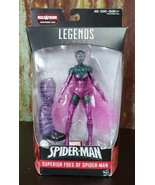 Marvel Legends Series Spider-Man Series Beetle Female BAF Absorbing Man  - $14.03