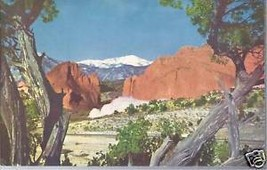 Looking at snow-covered Pikes Peak - $3.99