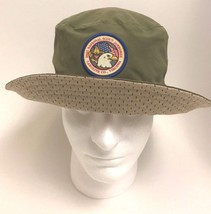 Boy Scout Hat 2005 National Scout Jamboree Virginia Reversible Floppy Pa... - $42.56